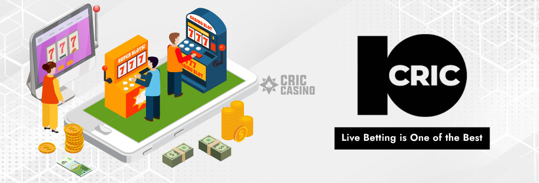live betting on 10cric india