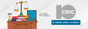 10Cric is legal in India