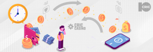 Withdraw from 10Cric Casino